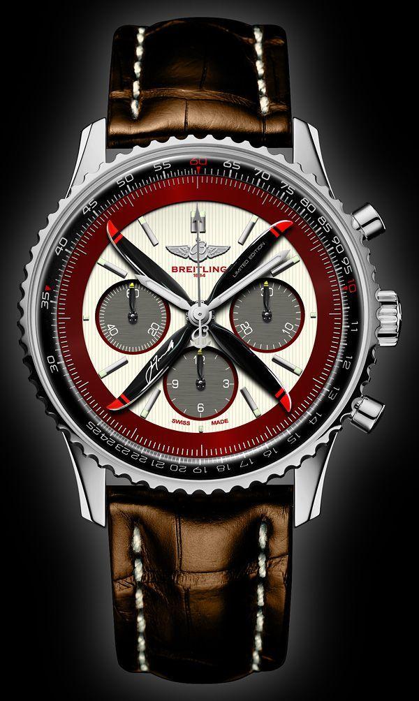 #Navitimer, Nice Aviator style watch. Nice look.