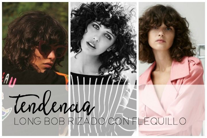 TENDECIA 2016-2017: LONG BOB CON FLEQUILLO RIZADO