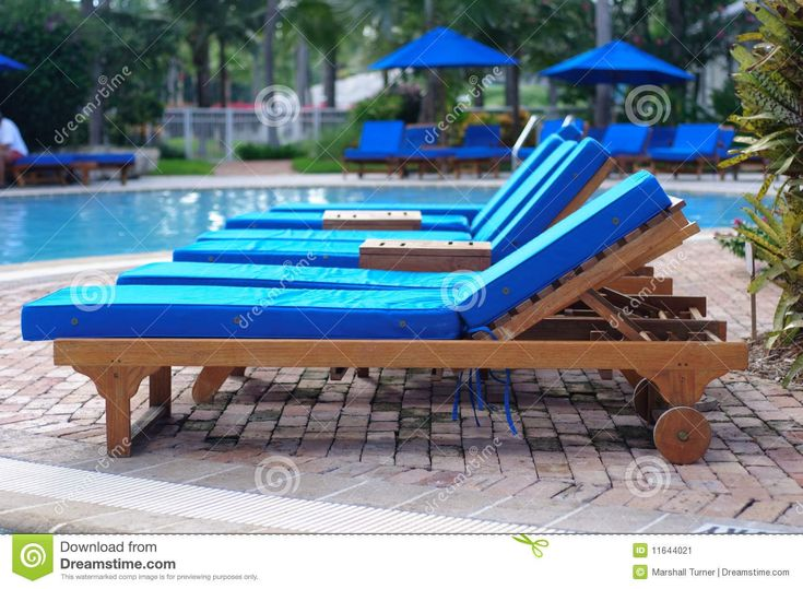 Cool Pool Lounge Chairs