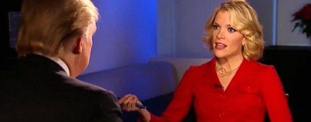 In a 2011 interview with Megyn Kelly, Donald Trump scolded Republican candidates for skipping his event — and heaped praise on her moderating skills. (Fox News)