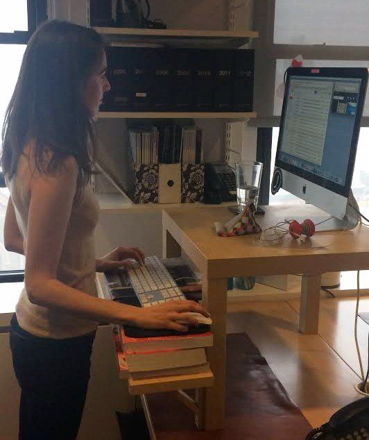 i tried a standing desk for a day here 39 s what happened desktop computers therapy and events