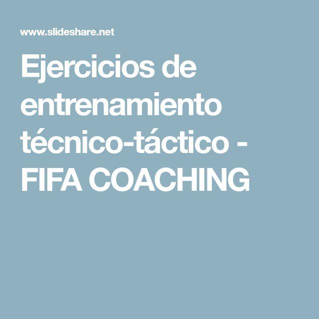 Ejercicios de entrenamiento técnico-táctico - FIFA COACHING
