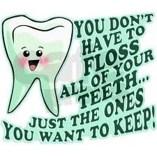 Listen to your dental hygienist :) lesky