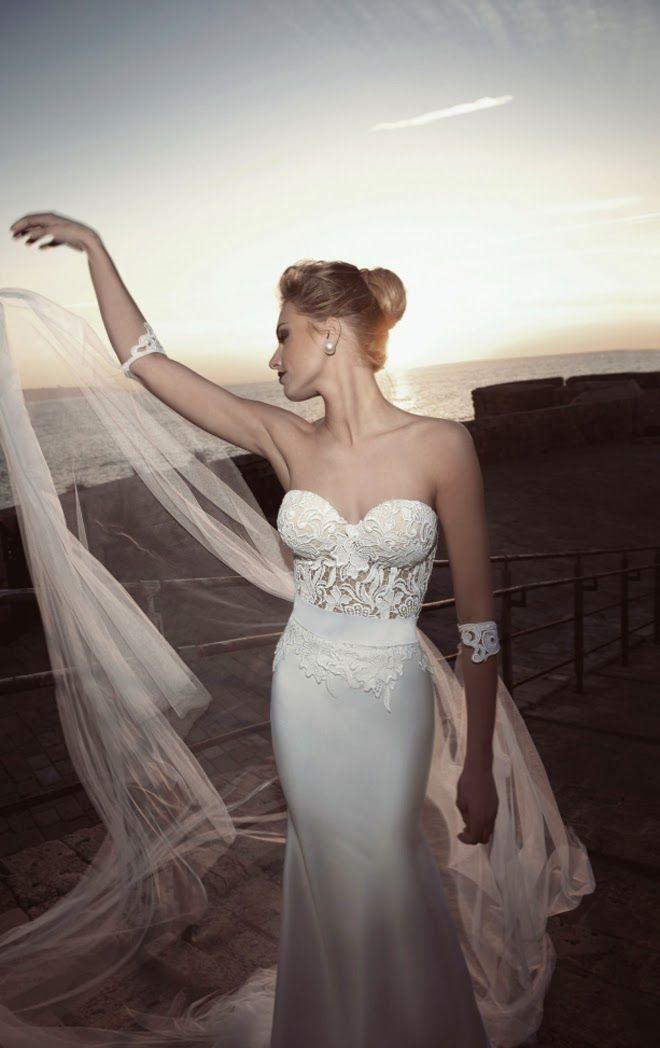 Exclusivos vestidos de novia ajustados | Moda y tendencias para bodas