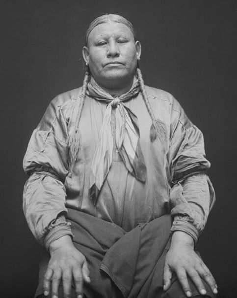 Young Puma, a man of the Osage Nation. 1916. No additional information re: this photo.