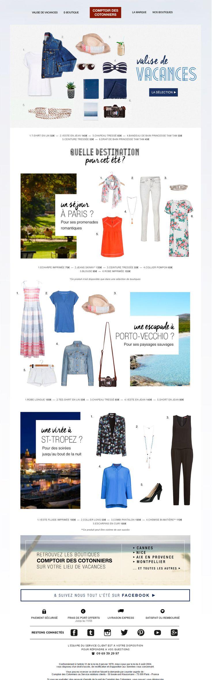 Comptoir des Cotonniers - La check-list Mode de l'été ✔ - Juin 2015