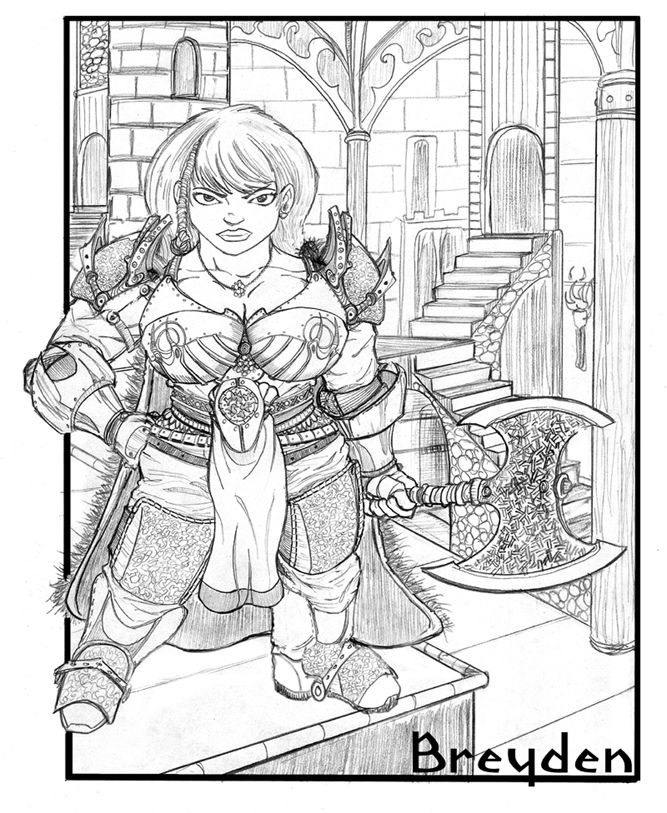 Finally someone does a female dwarf that doesn't look just like a male dwarf with boobs. Description from staino.deviantart.com. I searched for this on bing.com/images