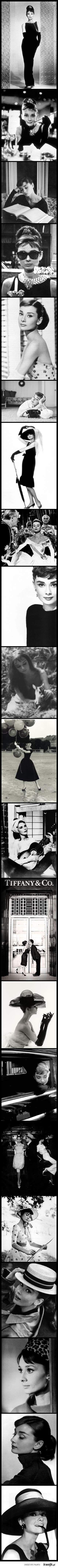 Audrey Hepburn. S)