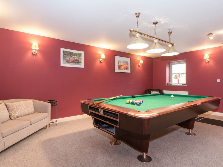 Ideal for all the family this property has a games featuring an American pool table.