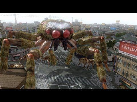 Earth Defense Force 4. Live Stream Episode 02 SPIDAARS!!