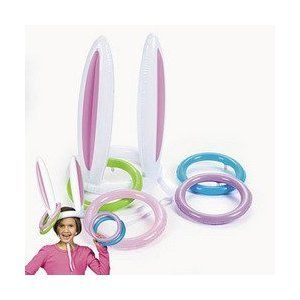 Funny Easter Party Games : Easter Bunny Ears Ring Toss party Game