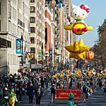 Macy's Thanksgiving Day Parade route map and parade information