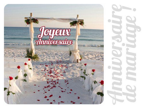 un joyeux anniversaire de mariage tout plein de bonheur et damour http - Cybercarte Anniversaire De Mariage