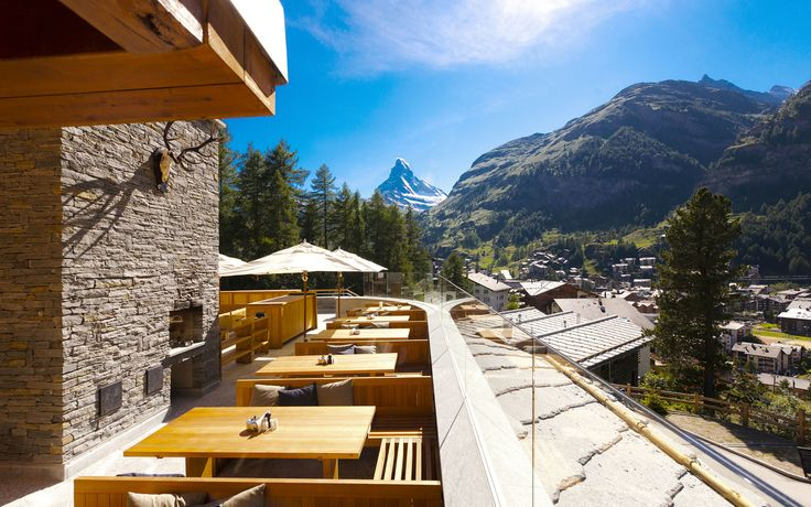 Chalet Cervo, Zermatt, Switzerland.  Luxury ski chalet with private spa from Firefly Collection. www.firefly-collection