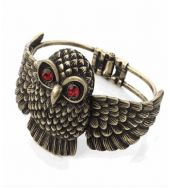 Owl Bracelet bronze colour