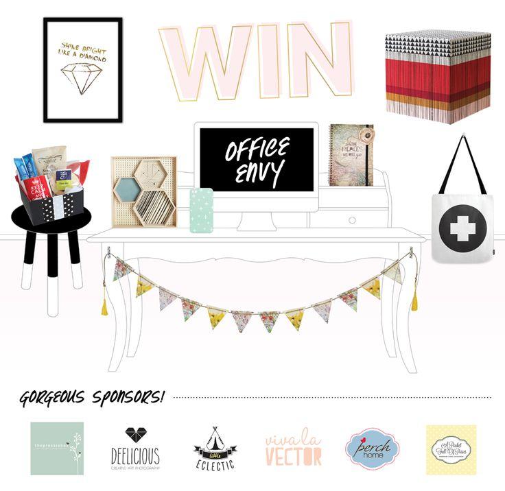 Enter to win: Office Envy Giveaway | http://www.dango.co.nz/s.php?u=UF3RG5jN1947