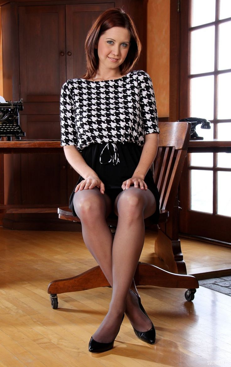 Chrissy Marie Pantyhose Office tight (31)