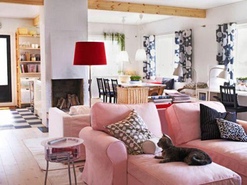 Расстановка мебели в комнате - советы и рекомендации