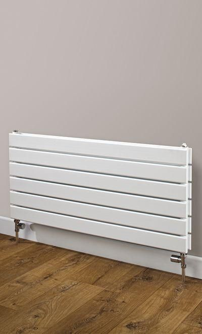 Cheshire Radiators Bretton Single Horizontal Flat Tube Steel Radiator in white Cast Iron Radiators - Period Radiators, Traditional Radiators, Designer Radiators, Contemporary Radiators, Modern Radiators UK