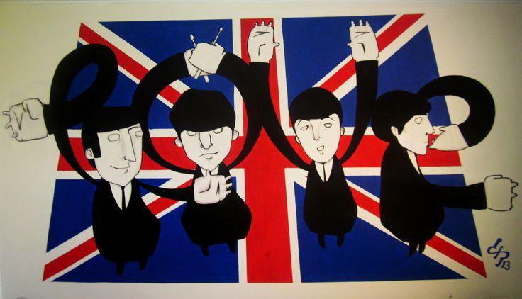 """The Beatles (Love)"" by David Pérez"