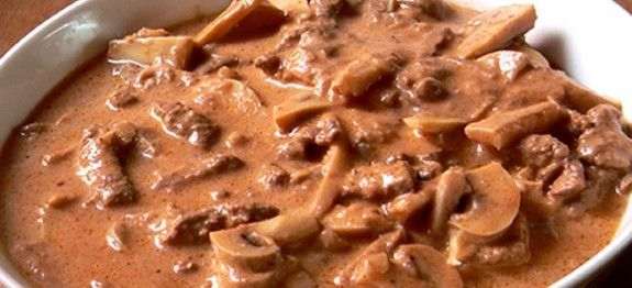 estrogonofe de carne facil dukan