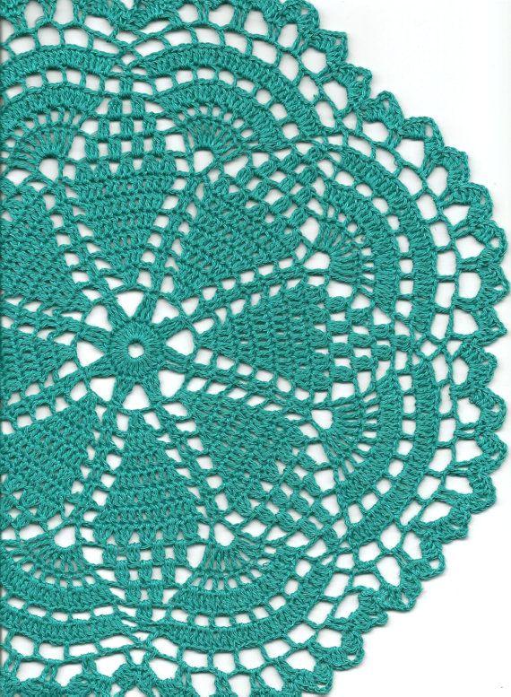 Christmas gift Crochet doily lace doilies eco by DoilyWorld