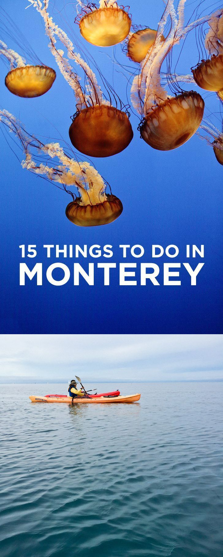 Heading to the Monterey Peninsula. You don't want to miss these 15 things to do in Monterey California. It's also a great home base for exploring Big Sur // Local Adventurer #monterey #bigsur #visitcalifornia