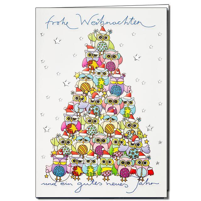 50 besten weihnachtskarten bilder auf pinterest - Moderne weihnachtskarten ...
