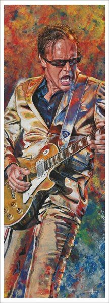 "Joe Bonamassa (art).  I've seen Joe in concert and he gives the ultimate ""live"" performance. Truly surreal."
