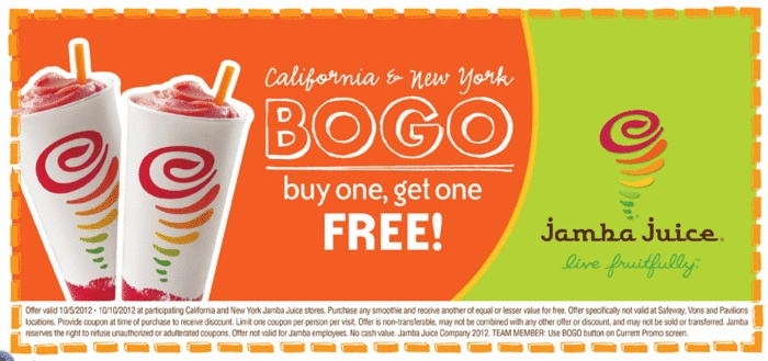 Free Birthday Jamba Juice ~ Best images about coupons on pinterest toys r us