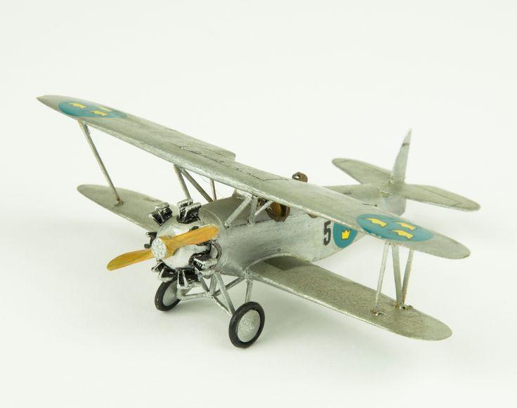 Model aeroplane Sk 10, ASJA/Raab Katzenstein. Skala 1:72   Flygvapenmuseum   CC BY