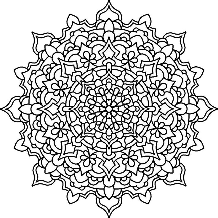 133 Best MANDALAS Images On Pinterest