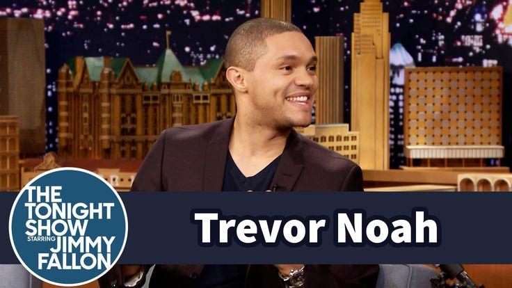 Trevor Noah's Drunk Friends Got Him into Stand-Up