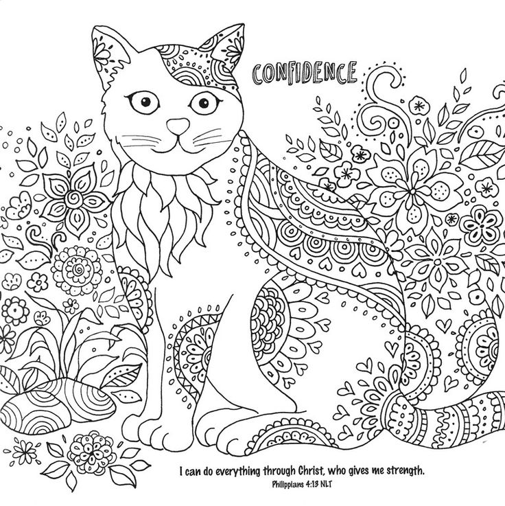 432 best images about cats dogs coloring pages for