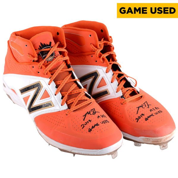 Madison Bumgarner San Francisco Giants Fanatics Authentic Autographed Game-Used 2014 All Star Cleats with 2014 ASG Game Used Inscription - $6999.99
