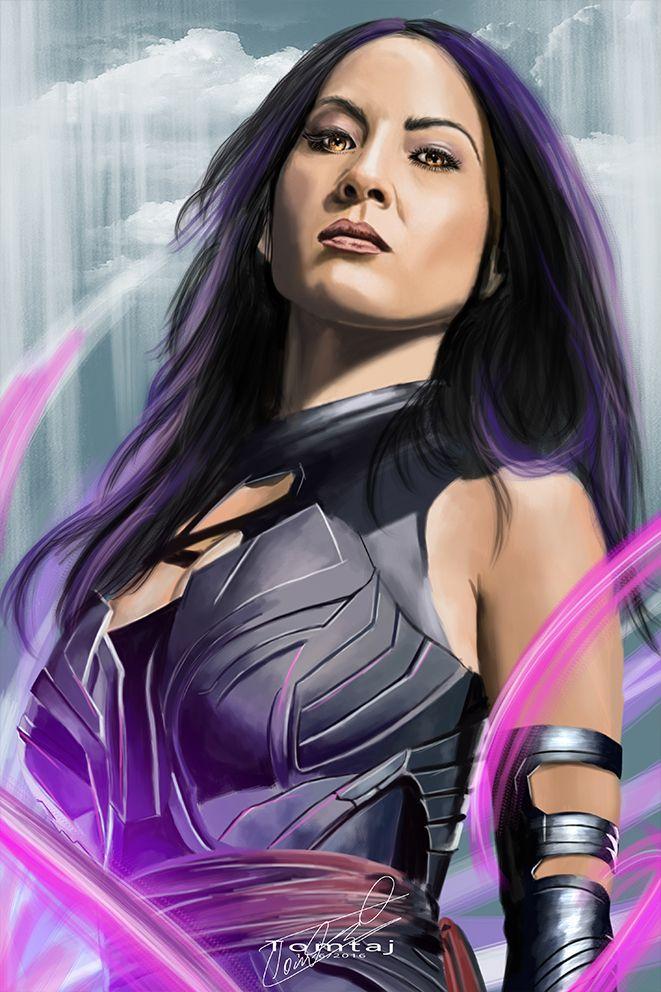 Psylocke #X-men by Tomtaj1.deviantart.com on @DeviantArt