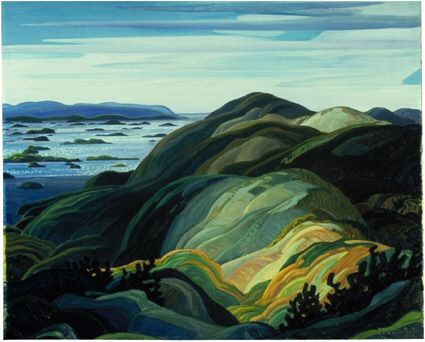 "Franklin Carmichael, (The Group of Seven) ""Bay of Islands"""