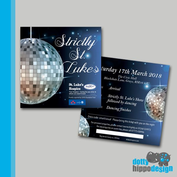 Strictly tickets for St. Luke's Hospice