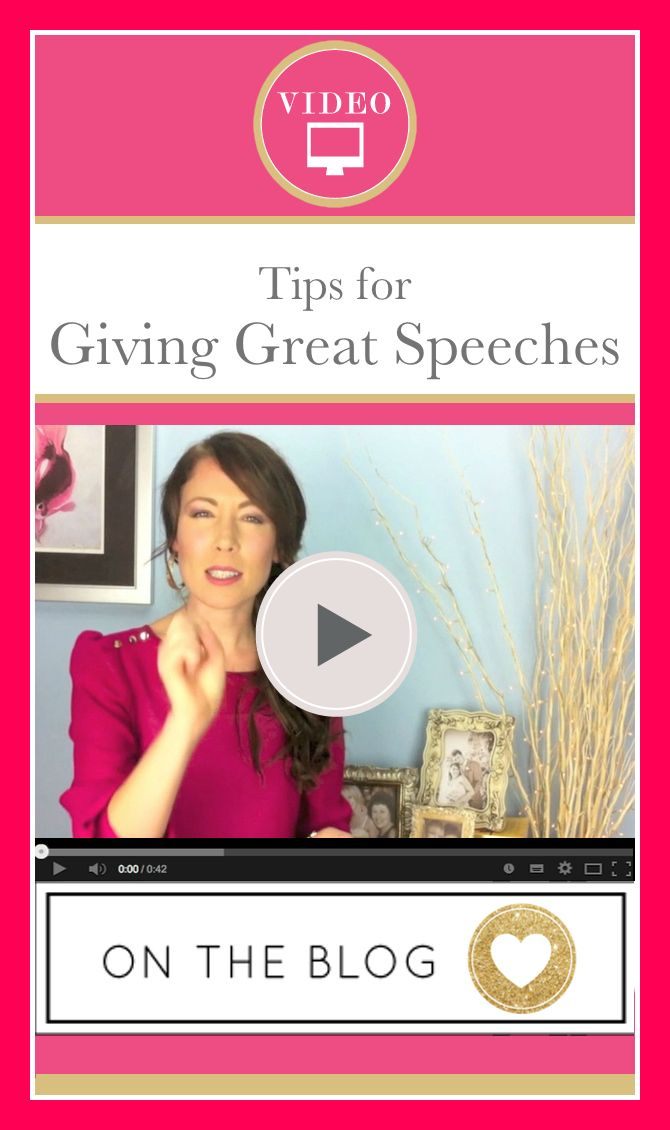 How to give a MEMORABLE wedding speech (and stay stress free as you give it!) FREE DOWNLOAD - click here >>