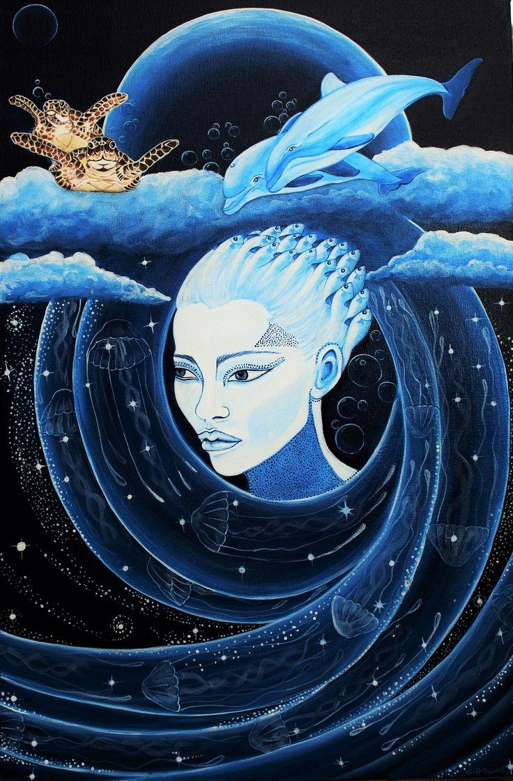 Interpretation of Dreams Original artwork on canvas.