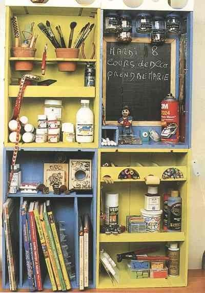 22 best brocante etageres images on pinterest build your own creative ideas and good ideas - Les etageres funky d de quirky ...