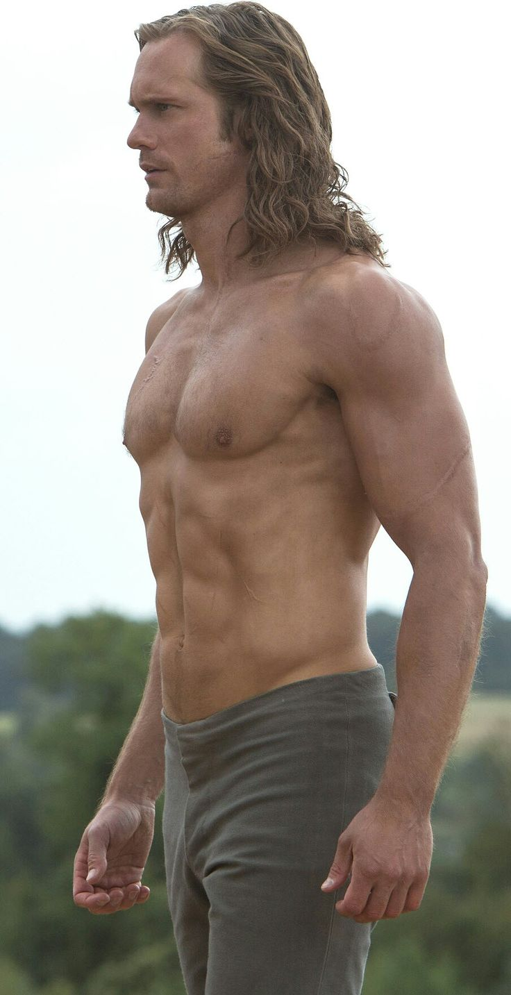 Alexander Skarsgard Legend of Tarzan. Remember him best in true blood.