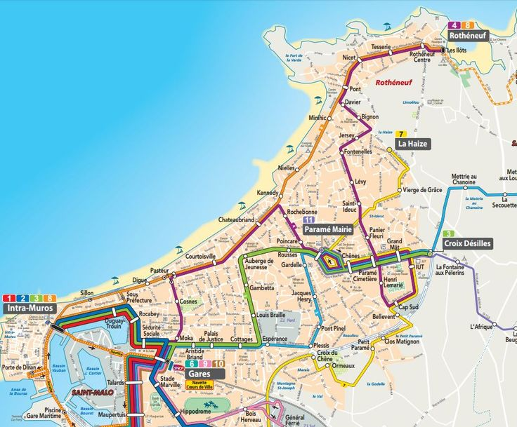 rencontre bus Saint-Malo