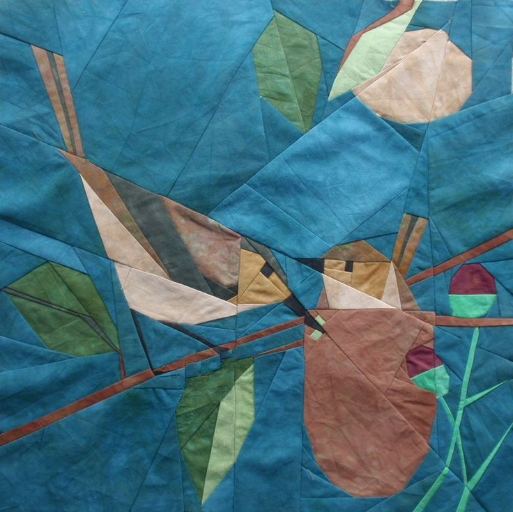 This is a pattern by Quilt Art Designs