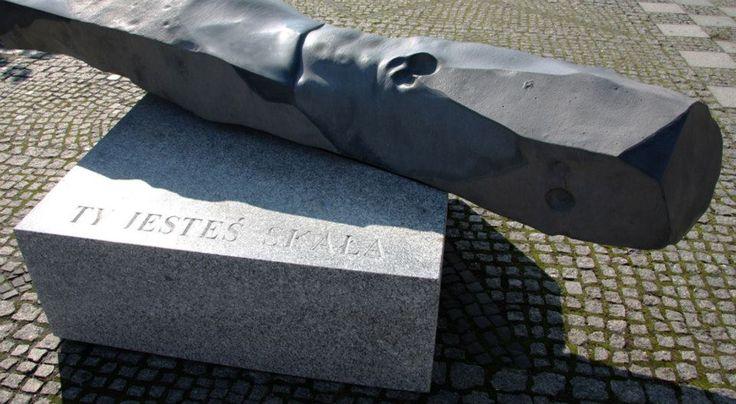 jerzy fober, ty jesteś skała, 2010, bazalt, granit