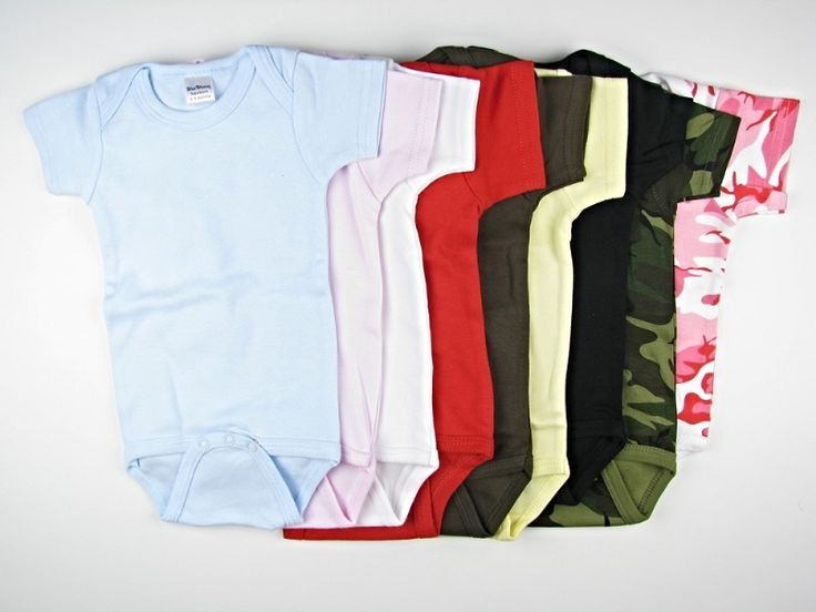 Wholesale Blank Onesies - Short Sleeved Creeper - Wee Wearz | Wholesale Blank Clothes