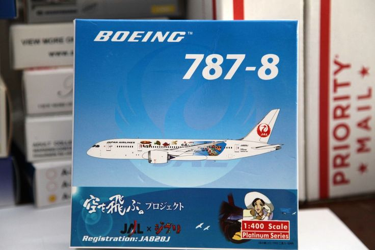 Phoenix Models 1 400 JAL Boeing 787 800 Dreamliner Studio Ghibli 10717 |