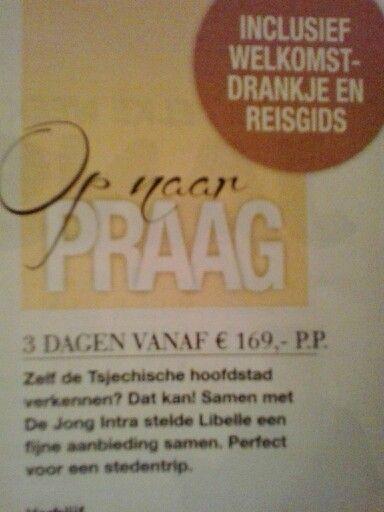 Libelle.nl/reizen. Code SVPRAZ9. Idee voor ons eigen weekendje weg.