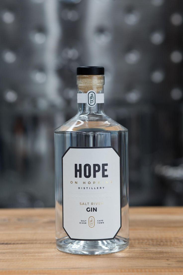 Gin from Hope on Hopkins. Find them at the #SanlamHmC Fair in Joburg this weekend