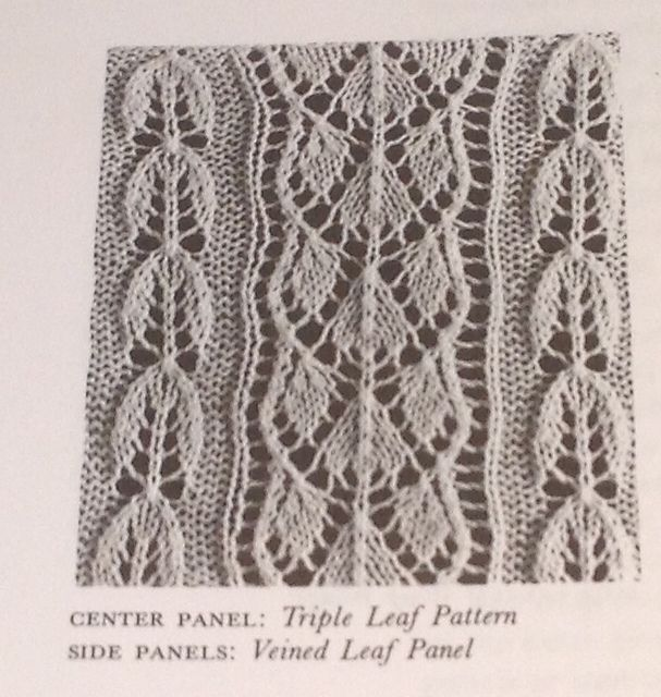 Vine Leaf Knitting Pattern : 668 best images about Knitting: Flowers, Leaves, Vines ...